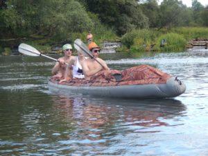 Сплав по реке Шерна