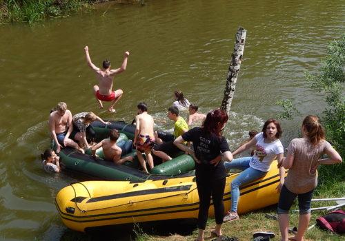 Сплав по реке Нерль